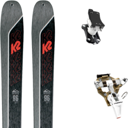 Pack ski K2 K2 WAYBACK 96 21 + DYNAFIT SPEED TURN 2.0 BRONZE/BLACK 21 - Ekosport