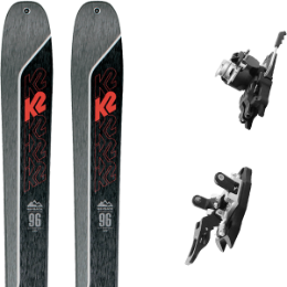 Pack ski K2 K2 WAYBACK 96 21 + PLUM SUMMIT 12 - 100 MM 21 - Ekosport