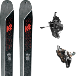 Pack ski K2 K2 WAYBACK 96 21 + DYNAFIT ST RADICAL TURN 95 BLACK 21 - Ekosport