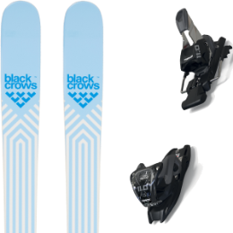 BU SKI BLACK CROWS BLACK CROWS CAPTIS BIRDIE 21 + MARKER 11.0 TCX BLACK/ANTHRACITE 20 - Ekosport