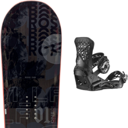 ROSSIGNOL ONE LF WIDE 21 + SALOMON HIGHLANDER BLACK 21