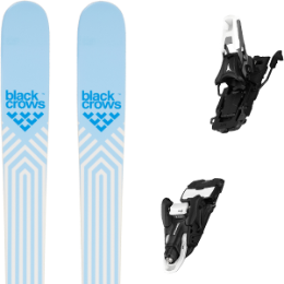 BU Ski Alpin BLACK CROWS BLACK CROWS CAPTIS BIRDIE 21 + ATOMIC SHIFT 10 MNC N BLACK/WHITE 90 21 - Ekosport