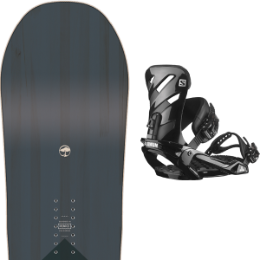 Snowboard ARBOR ARBOR FOUNDATION 21 + SALOMON RHYTHM BLACK 21  - Ekosport