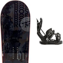 ROSSIGNOL ONE LF WIDE 21 + FLOW NX2 FUSION BLACK 21