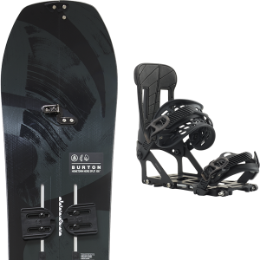 BURTON FAMILY TREE HOMETOWN HERO SPLITBOARD 21 + BURTON HITCHHIKER BLACK 20
