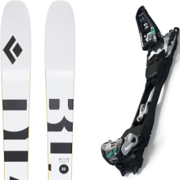 Boutique BLACK DIAMOND BLACK DIAMOND HELIO CARBON 88 21 + MARKER F10 TOUR BLACK/WHITE 20 - Ekosport