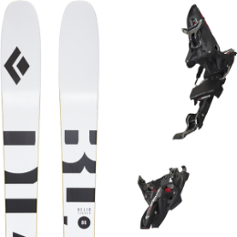 Pack ski BLACK DIAMOND BLACK DIAMOND HELIO CARBON 88 21 + MARKER KINGPIN MWERKS 12 75-100MM BLK/RED 20 - Ekosport