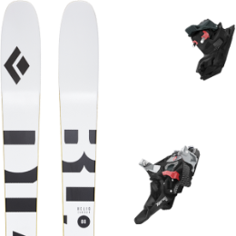 Boutique BLACK DIAMOND BLACK DIAMOND HELIO CARBON 88 21 + FRITSCHI XENIC 10 21 - Ekosport