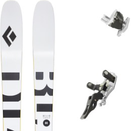 Pack ski BLACK DIAMOND BLACK DIAMOND HELIO CARBON 88 21 + PLUM GUIDE 12 GRIS 20  - Ekosport