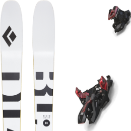 Boutique BLACK DIAMOND BLACK DIAMOND HELIO CARBON 88 21 + MARKER ALPINIST 12 BLACK/RED 21 - Ekosport