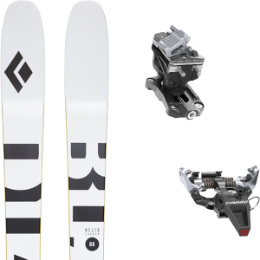Pack ski BLACK DIAMOND BLACK DIAMOND HELIO CARBON 88 21 + DYNAFIT SPEED RADICAL SILVER 21 - Ekosport