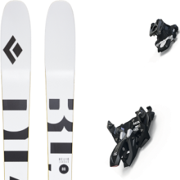Pack ski BLACK DIAMOND BLACK DIAMOND HELIO CARBON 88 21 + MARKER ALPINIST 9 BLACK/TITANIUM 21 - Ekosport
