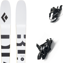 Pack ski BLACK DIAMOND BLACK DIAMOND HELIO CARBON 88 21 + MARKER ALPINIST 9 LONG TRAVEL 90MM BLACK/TITANIUM 21 - Ekosport