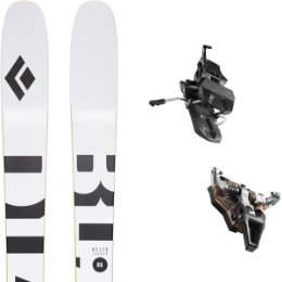 Boutique BLACK DIAMOND BLACK DIAMOND HELIO CARBON 88 21 + DYNAFIT ST RADICAL TURN 95 BLACK 21 - Ekosport