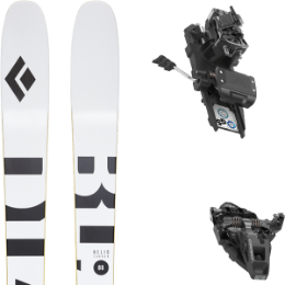 Boutique BLACK DIAMOND BLACK DIAMOND HELIO CARBON 88 21 + DYNAFIT ST ROTATION 10 90MM BLACK KS 21 - Ekosport