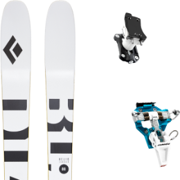 Boutique BLACK DIAMOND BLACK DIAMOND HELIO CARBON 88 21 + DYNAFIT SPEED TURN 2.0 BLUE/BLACK 21 - Ekosport