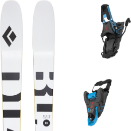 Boutique BLACK DIAMOND BLACK DIAMOND HELIO CARBON 88 21 + SALOMON S/LAB SHIFT MNC 13 N BLACK/BLUE SH90 21 - Ekosport