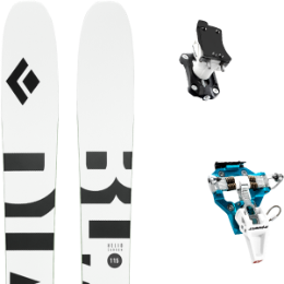 BLACK DIAMOND HELIO CARBON 115 21 + DYNAFIT SPEED TURN 2.0 BLUE/BLACK 21