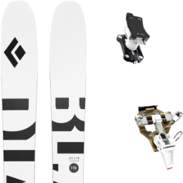 BLACK DIAMOND HELIO CARBON 115 21 + DYNAFIT SPEED TURN 2.0 BRONZE/BLACK 21