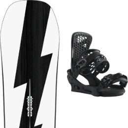 Snowboard BURTON BURTON CUSTOM NO COLOR 21 + BURTON GENESIS MATTY BLACK 20 - Ekosport