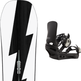 Boutique BURTON BURTON CUSTOM NO COLOR 21 + BURTON CARTEL BLACK 21  - Ekosport