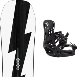 BU SKI BURTON BURTON CUSTOM NO COLOR 21 + BURTON GENESIS EST MATTY BLACK 21  - Ekosport