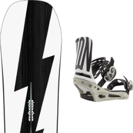 BU Ski Alpin BURTON BURTON CUSTOM NO COLOR 21 + BURTON CARTEL X TEAM GRAY 21  - Ekosport