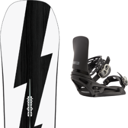 BU SKI BURTON BURTON CUSTOM NO COLOR 21 + BURTON CARTEL X EST BLACK 21 - Ekosport