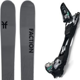 Pack ski FACTION FACTION AGENT 2.0 21 + MARKER F10 TOUR BLACK/WHITE 20 - Ekosport