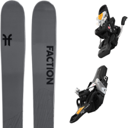 Boutique FACTION FACTION AGENT 2.0 21 + FRITSCHI TECTON 12 100MM 21 - Ekosport