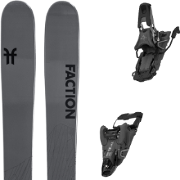 Boutique FACTION FACTION AGENT 2.0 21 + SALOMON S/LAB SHIFT MNC 10 N BLACK SH100 21 - Ekosport