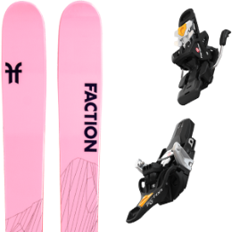 Pack ski FACTION FACTION AGENT 2.0 X 21 + FRITSCHI TECTON 12 100MM 21 - Ekosport