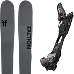 Pack ski FACTION FACTION AGENT 2.0 21 + MARKER F12 TOUR EPF BLACK/ANTHRACITE 21 - Ekosport
