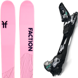 BU Fond / Rando FACTION FACTION AGENT 2.0 X 21 + MARKER F10 TOUR BLACK/WHITE 20 - Ekosport