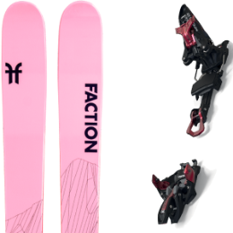 BU Fond / Rando FACTION FACTION AGENT 2.0 X 21 + MARKER KINGPIN 10 75-100MM BLACK/RED 21 - Ekosport