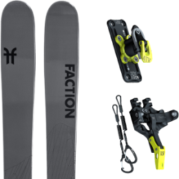 Pack ski FACTION FACTION AGENT 2.0 21 + ATK TROFEO PLUS 10 21 - Ekosport