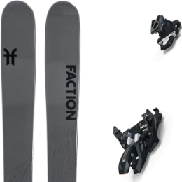 Pack ski FACTION FACTION AGENT 2.0 21 + MARKER ALPINIST 12 BLACK/TITANIUM 20 - Ekosport