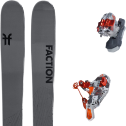 Pack ski FACTION FACTION AGENT 2.0 21 + G3 ION LT 12 WITH LEASH 20 - Ekosport