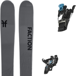 BU Fond / Rando FACTION FACTION AGENT 2.0 21 + SALOMON MTN TOUR BLACK/BLUE G100 21 - Ekosport