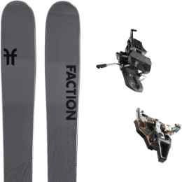 Boutique FACTION FACTION AGENT 2.0 21 + DYNAFIT ST RADICAL TURN 95 BLACK 21 - Ekosport