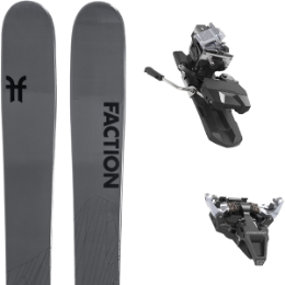 BU Fond / Rando FACTION FACTION AGENT 2.0 21 + DYNAFIT ST RADICAL 100MM SILVER 21 - Ekosport
