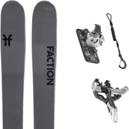 Pack ski FACTION FACTION AGENT 2.0 21 + ATK HAUTE ROUTE 10 21 - Ekosport