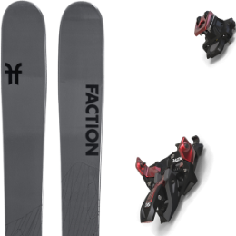 BU Fond / Rando FACTION FACTION AGENT 2.0 21 + MARKER ALPINIST 12 BLACK/RED 21 - Ekosport