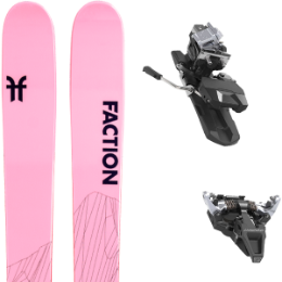 Pack ski FACTION FACTION AGENT 2.0 X 21 + DYNAFIT ST RADICAL 100MM SILVER 21 - Ekosport