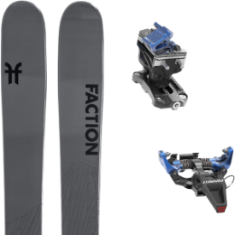 Boutique FACTION FACTION AGENT 2.0 21 + DYNAFIT SPEED RADICAL BLUE 21 - Ekosport