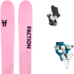 Pack ski FACTION FACTION AGENT 2.0 X 21 + DYNAFIT SPEED TURN 2.0 BLUE/BLACK 21 - Ekosport