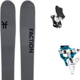 Boutique FACTION FACTION AGENT 2.0 21 + DYNAFIT SPEED TURN 2.0 BLUE/BLACK 21 - Ekosport