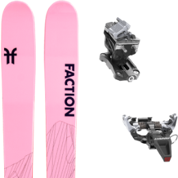 Pack ski FACTION FACTION AGENT 2.0 X 21 + DYNAFIT SPEED RADICAL SILVER 21 - Ekosport