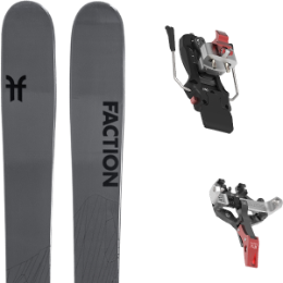 Pack ski FACTION FACTION AGENT 2.0 21 + ATK CREST 10 - 97MM 21 - Ekosport