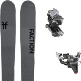 Pack ski FACTION FACTION AGENT 2.0 21 + DYNAFIT SPEED RADICAL SILVER 21 - Ekosport